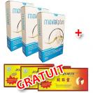 Movial Plus - Pachet 3 bucati + 3 Joints Forte GRATUIT