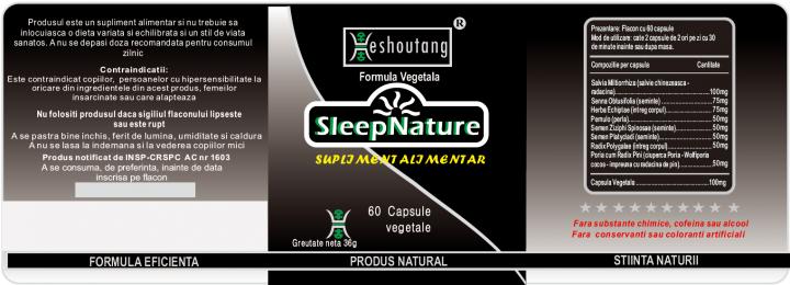 SleepNature 2 bucati - 30 zile prospect