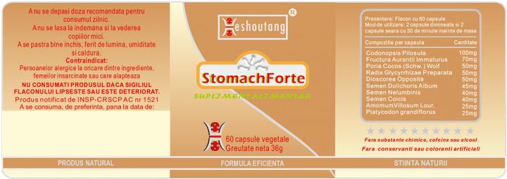 Stomachforte - 15 zile prospect